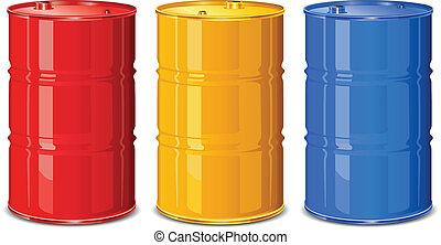 Color barrels