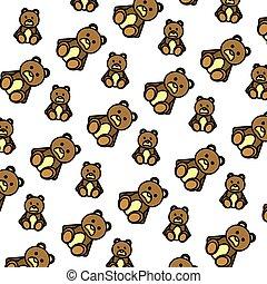 color bear teddy cute toy background