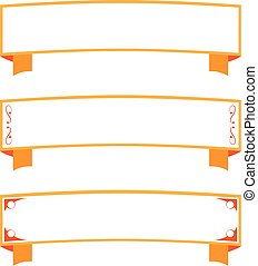 Color blank label useful for tickets or invitations