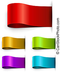 Color blank tags template