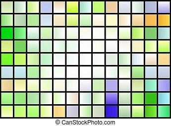 color blocks pattern gradient background