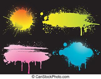 color blots