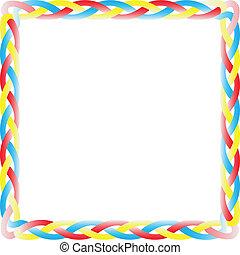 Color box braid