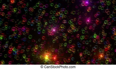 color bubble abstract ray