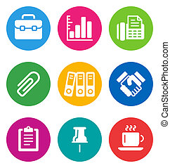 color business icons