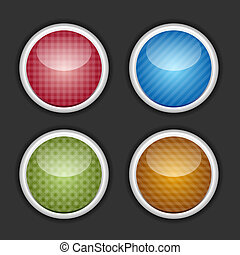 Color buttons set