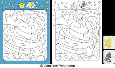 Color by dot worksheet - Worksheet for practicing fine motor...