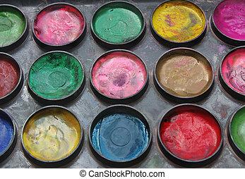 color, cajade colores