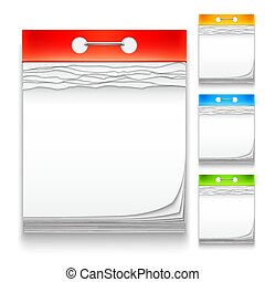Color Calendars Icons