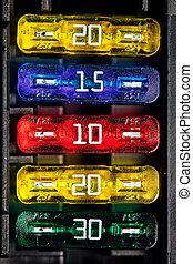 color car fuse