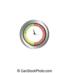 color car measuring icon