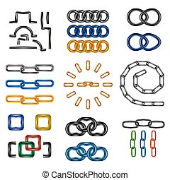 chain links set