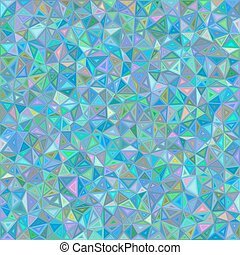 Color chaotic vector triangle mosaic background
