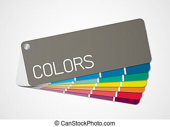 Color chart 2 - Illustration of color chart