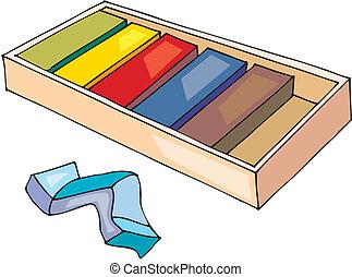 Color children's plasticine