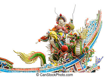 color Chinese god