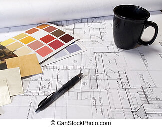 plans - color chps and house plans