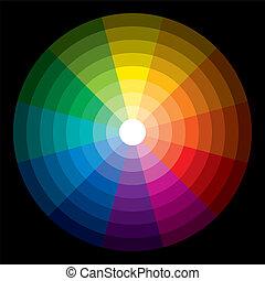 Color Circle Light Dark