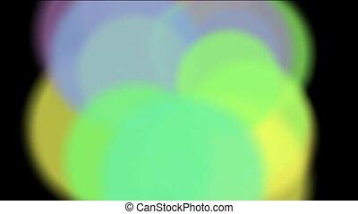 color circle pattern,motion disco