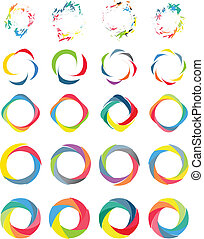 Color circle set