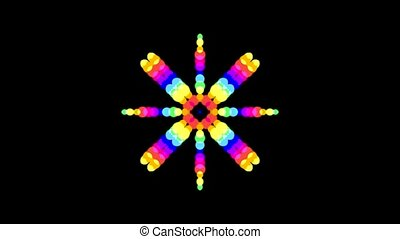 color circle shaped music rhythm
