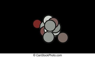 color circles and bubble in black