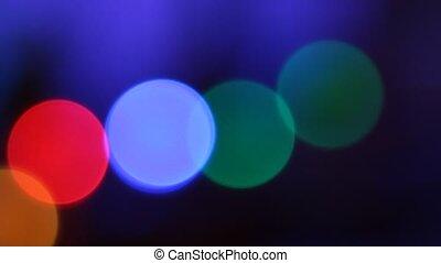 Color Circles Bokeh