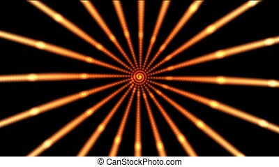 Color circles ray,like as sunshine