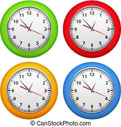 color, clocks