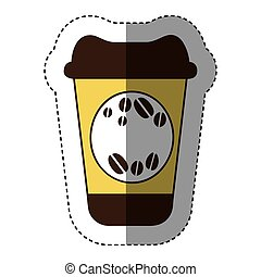 color coffee drink food icon