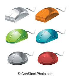 color computer mice