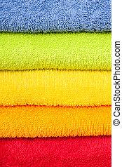 towels - color convolute towels