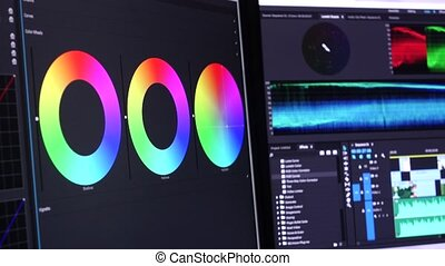 Color Correction and Timeline - Video Editing Software Going...