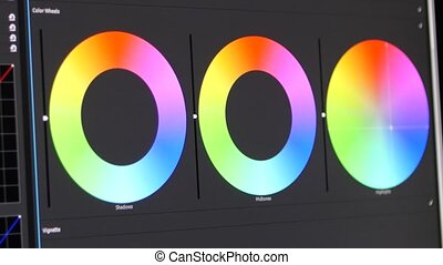 Color correction Ring - Video Editing Software Going Through...