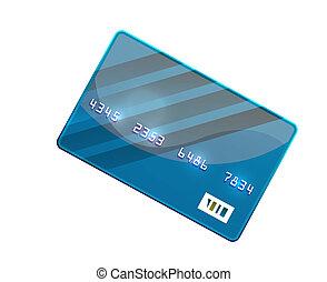 Color credit card vector