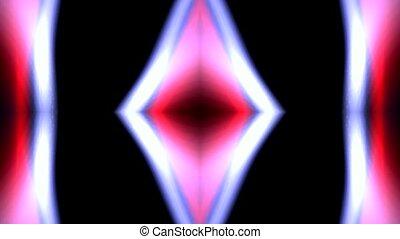 color diamond deform pattern, disco