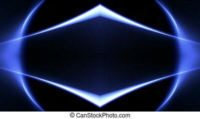color diamond neon light