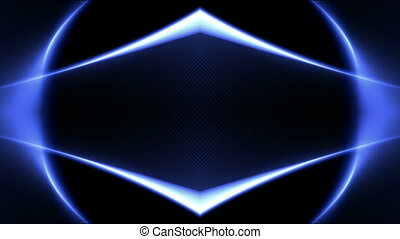 color diamond neon light