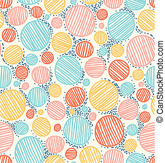 Color dotted abstract seamless pattern