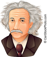 Albert Einstein - Color Drawing of Albert Einstein