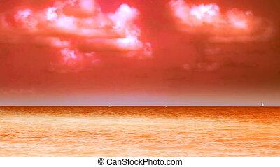 Color Enhanced Ocean View