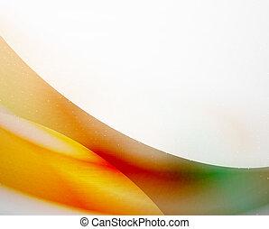 color, excepcional, resumen, onda