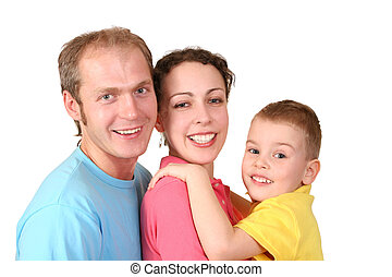 color family with boy profile 2