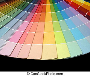 color fan for decorating