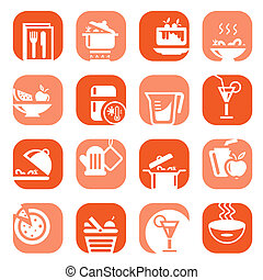 color food type icons