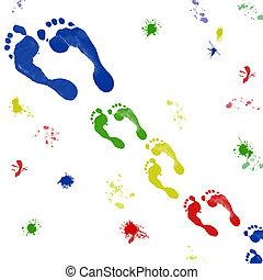 color footprint