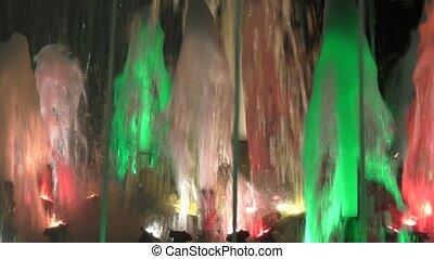 Color fountain