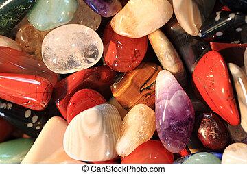 color gems background - color gems texture as natural...