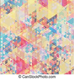 Color geometric background