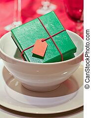 color gift boxes